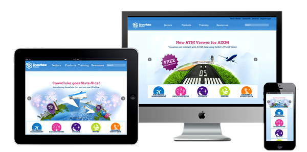 provides Responsive website design service